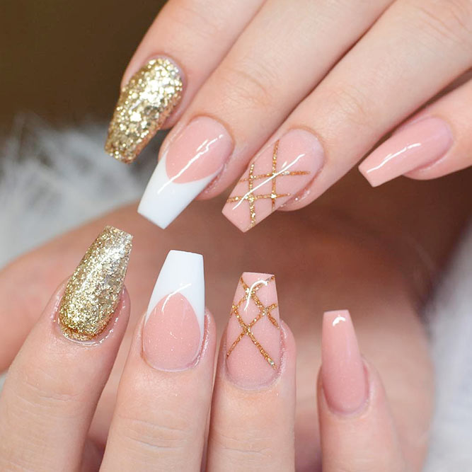 Gold nail designs graham reid lovely nude nail designs picture 2 21 times nude and gold nails rock naildesignsjournal prinsesfo Images