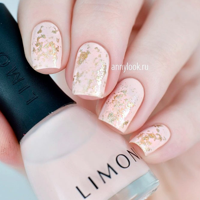 Lovely Nude Nail Designs picture 3
