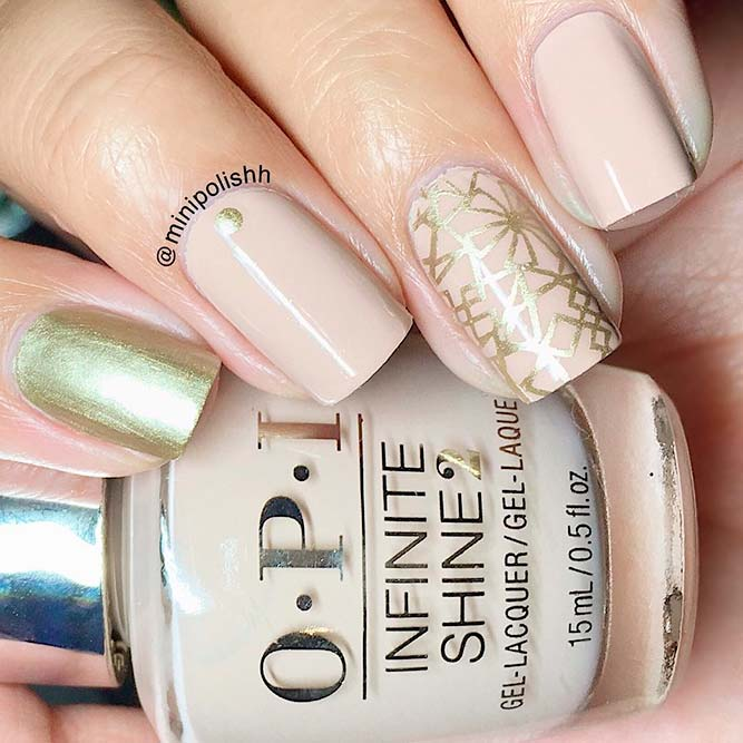 Lovely Nude Nail Designs picture 1