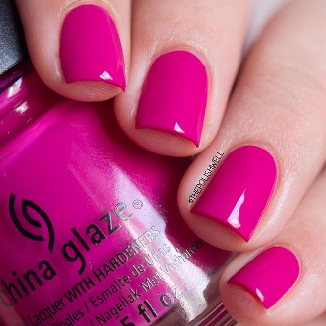 Bright Pink Nail Polish Colors: 21 Ways To Pull Off Pink Nail Polish