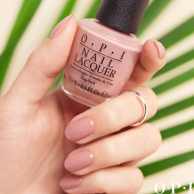 Classic Style with Nude Pink Polish picture 2
