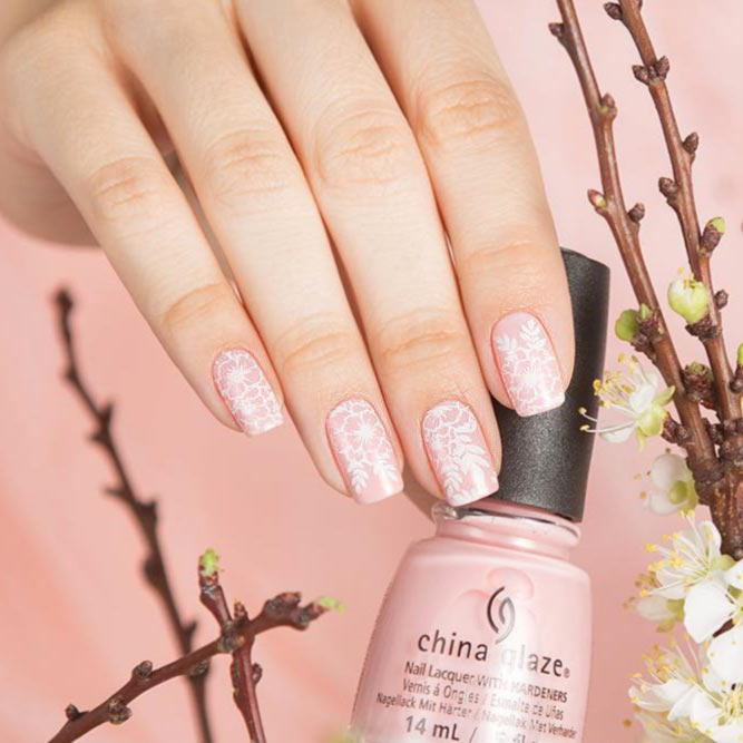 Classic Style with Nude Pink Polish picture 3