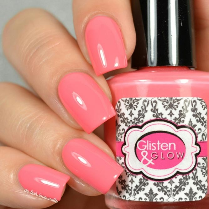 Rosy Coral Nail Color for Real Princesses picture 2