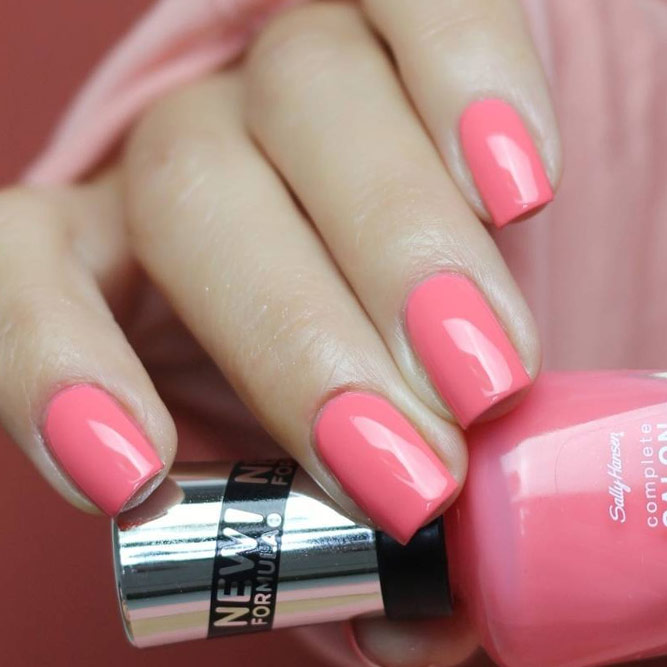 Rosy Coral Nail Color for Real Princesses picture 1