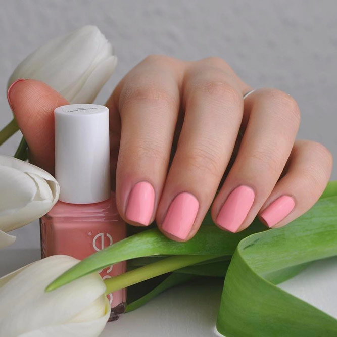 Cute Baby Pink Nail Polish picture 2