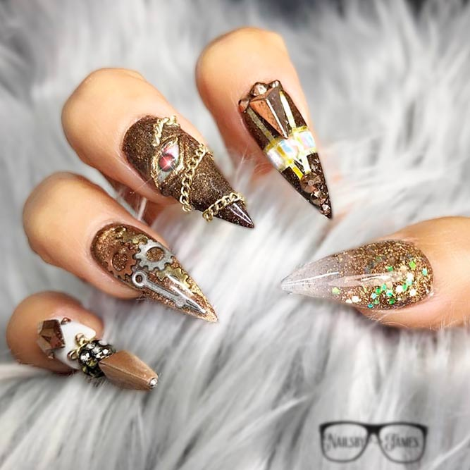 Fabulous Nail Art for Brave Girls picture 2
