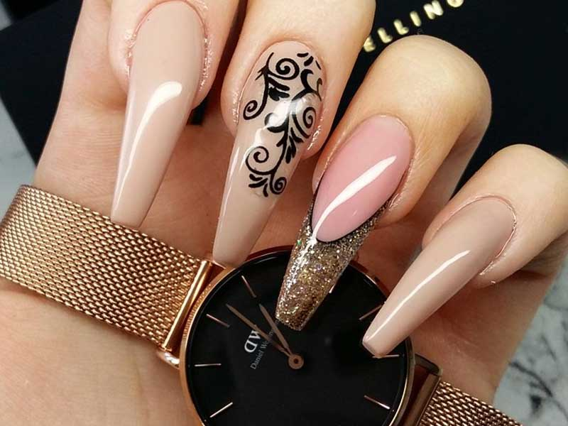27 Fall Nails Designs For Your Wedding | NailDesignsJournal.com