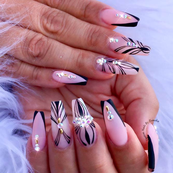 21 times ballerina shaped nails rock naildesignsjournal v for vtips picture 2 prinsesfo Images
