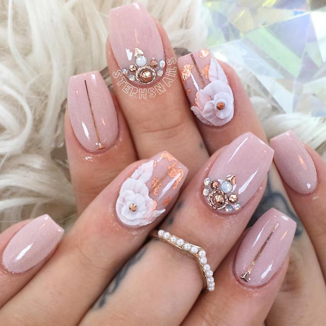Nude Is Always Suitable for Your Ballerina Shaped Nails picture 2