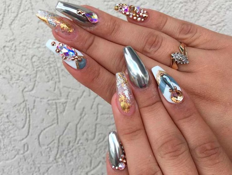 Сute Designs for Your Ballerina Shaped Nails