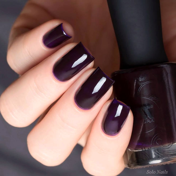Mystical Purple For Gorgeous Ladies