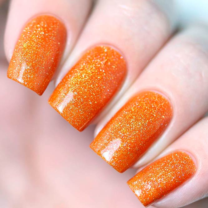 Tangerine Color Best Nail Polish to Surprize picture 1