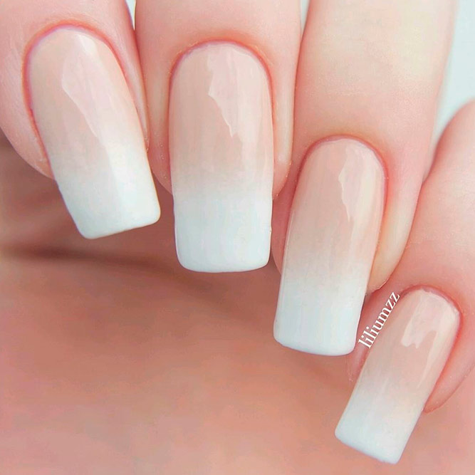 Elegant and Cute Ombre Nails in Delicate Tones picture 3
