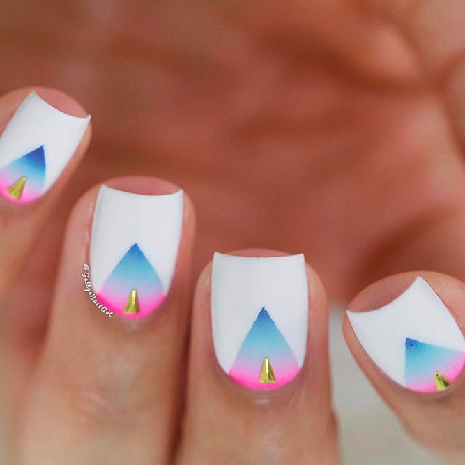 Sweet Mani Ideas for Short Nails picture 2