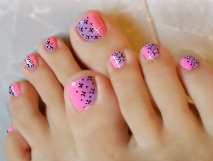 Toe nails archives nail designs diy toe nail designs easy ideas for beginers prinsesfo Choice Image