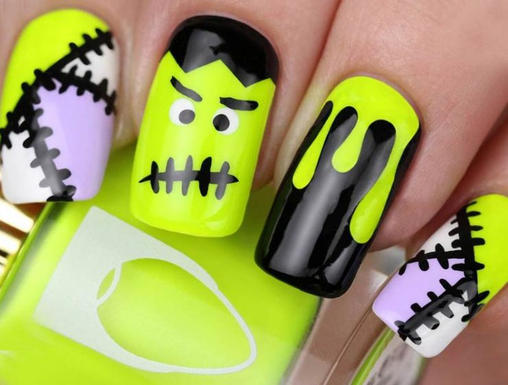 Hand painted nail designs archives page 2 of 4 nail designs 10 creative but easy halloween nails designs you can copy prinsesfo Image collections