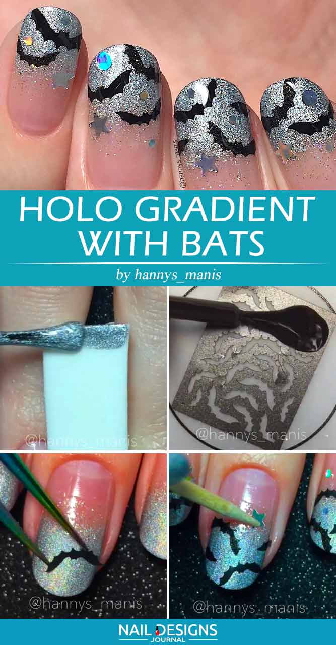 Holo Gradient With Bats