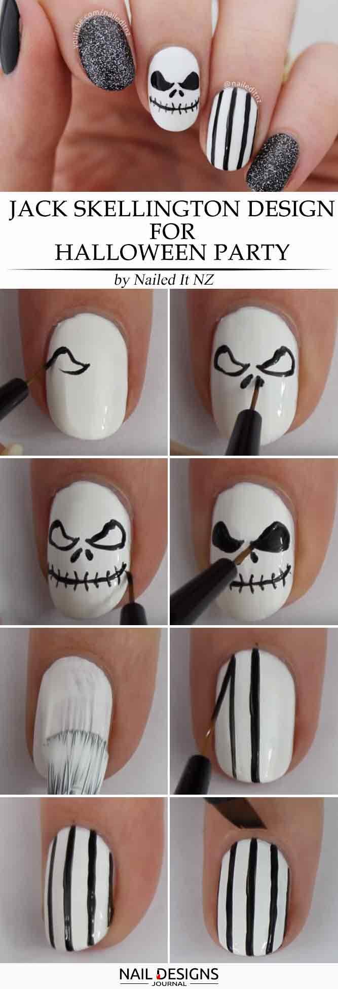 Jack Skellington Design for Halloween Party