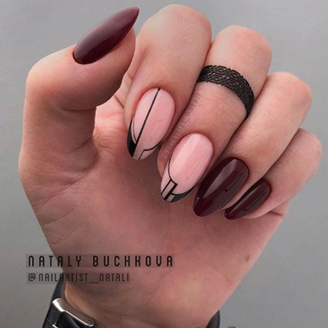 Beauty Graphic French Nails
