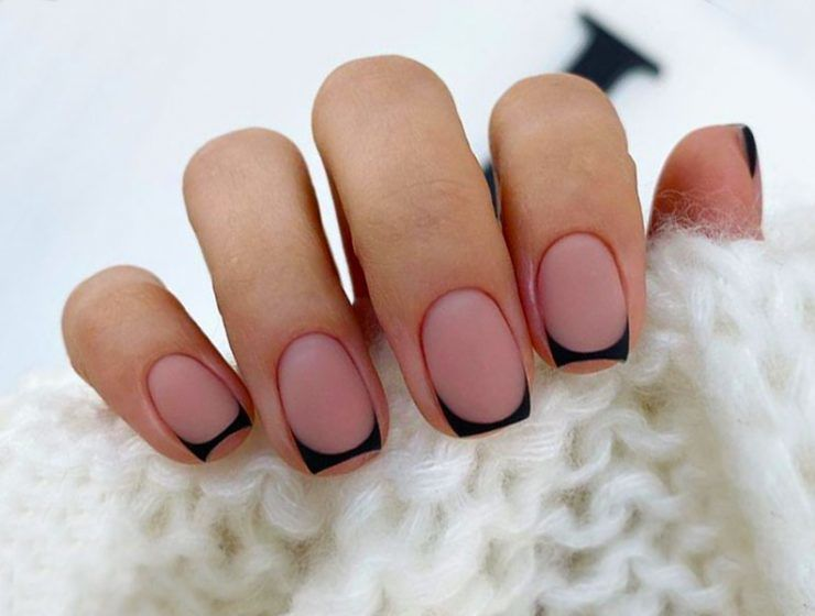 Beauty French Manicure To Be Elegant And Stylish