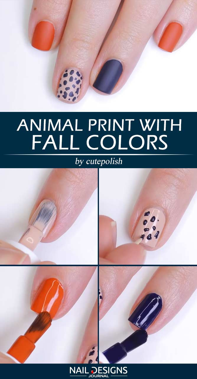 Animal Print With Fall Colors