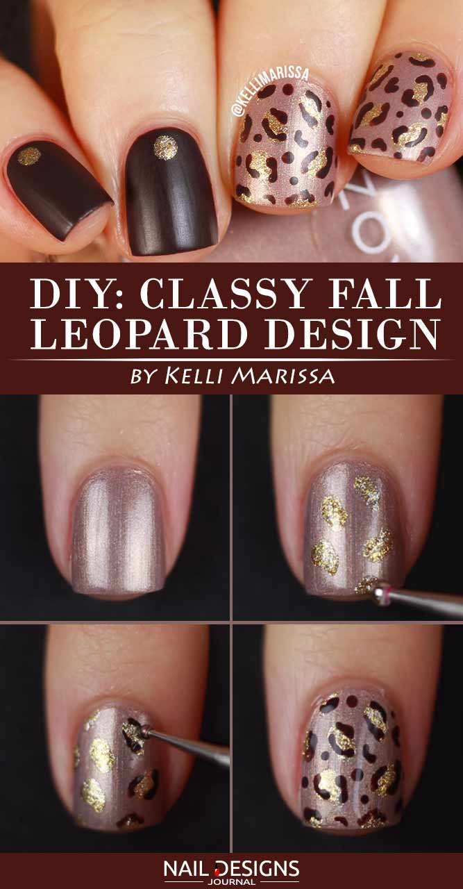 DIY Classy Fall Leopard Design
