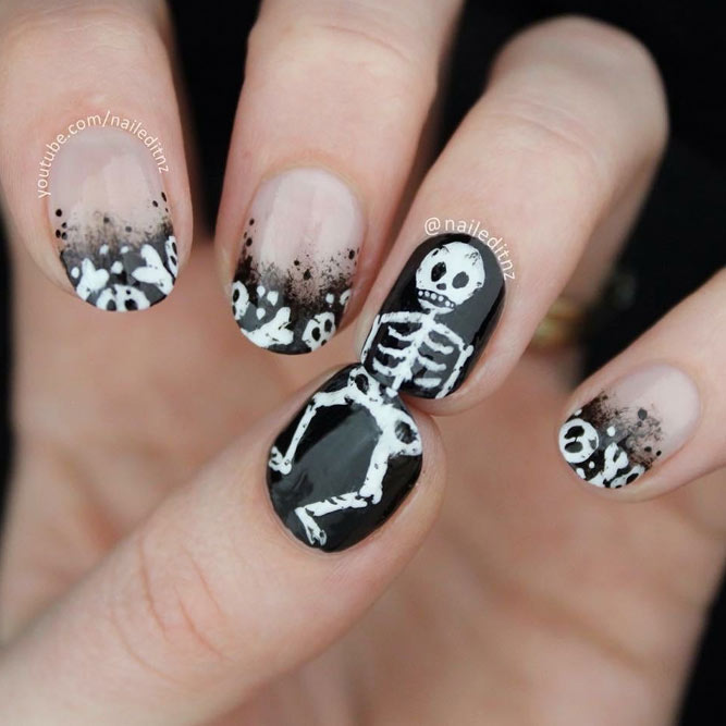21 Halloween Nail Ideas For The Boldest | NailDesignsJournal.com