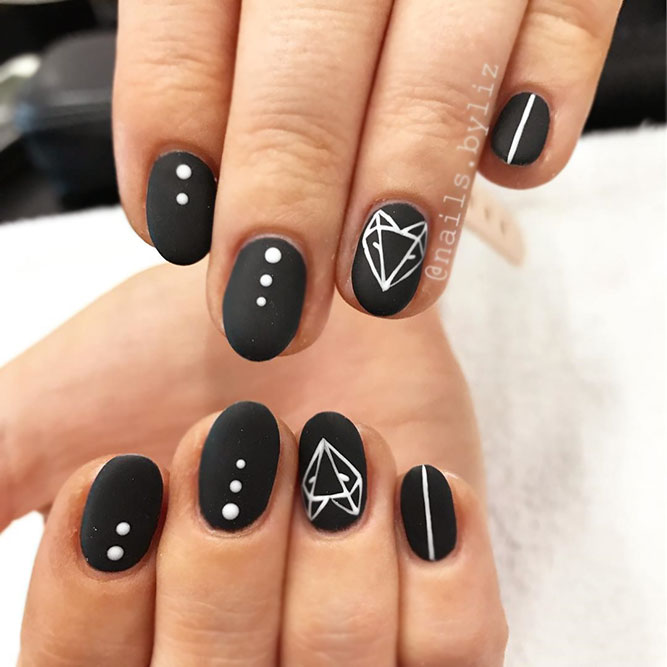 Foxy Nail Design In Scandinavian Style