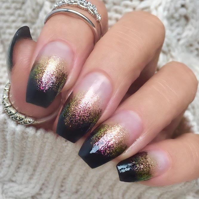 Black Ombre Nail Designs picture 2
