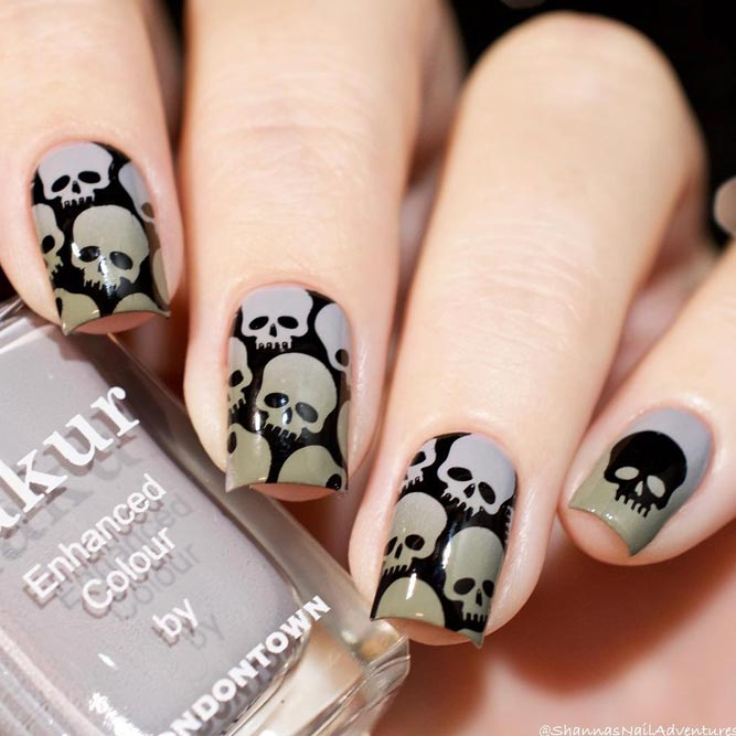 Halloween Mani Spooky Designs picture 3