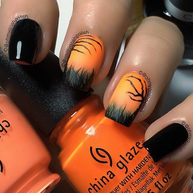 Halloween Mani Spooky Designs picture 1