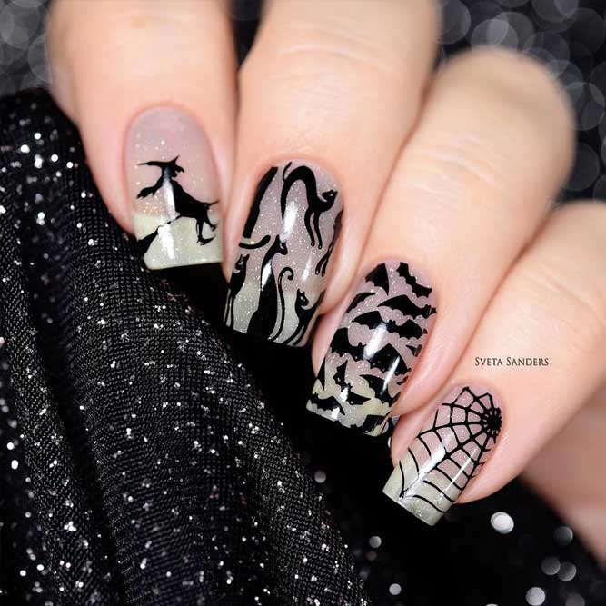 Creative Halloween Nails Ideas picture 3