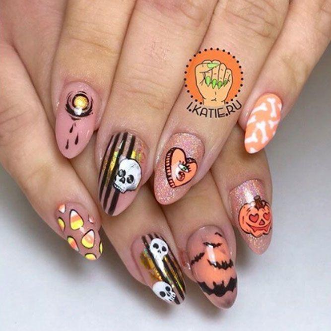 Creative Nails Idea for Halloween