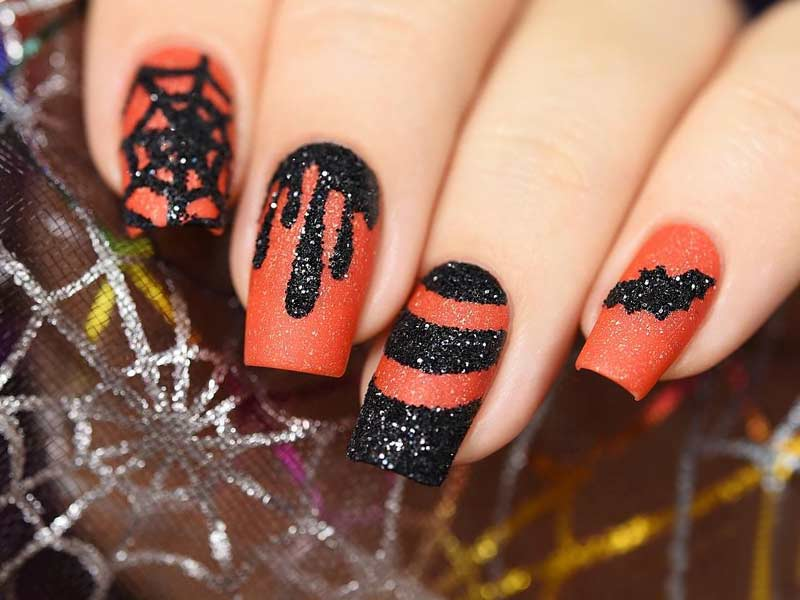 21 Halloween Nail Art Ideas To Scare Them All Naildesignsjournal