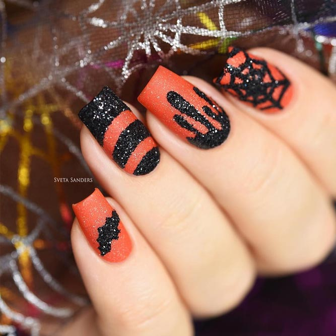 Classic Halloween Nail Art picture 1