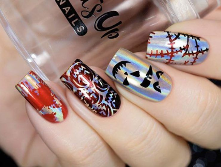 Cool Halloween Nail Art Ideas for You to be Delighted