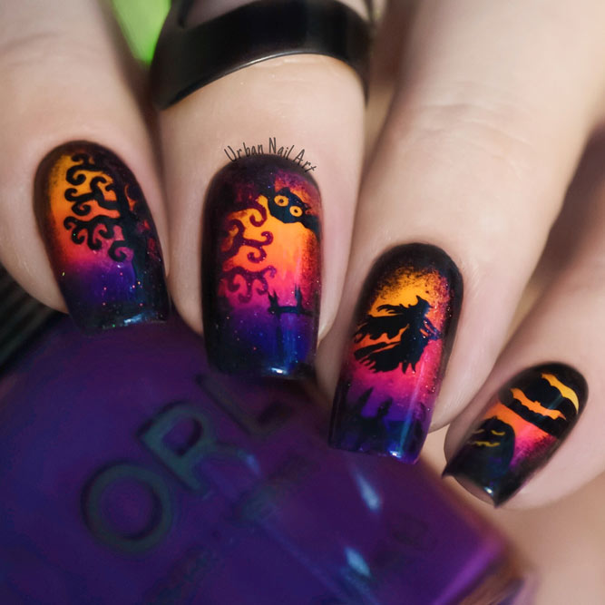 Cute Pumpkins Nail Art picture 3