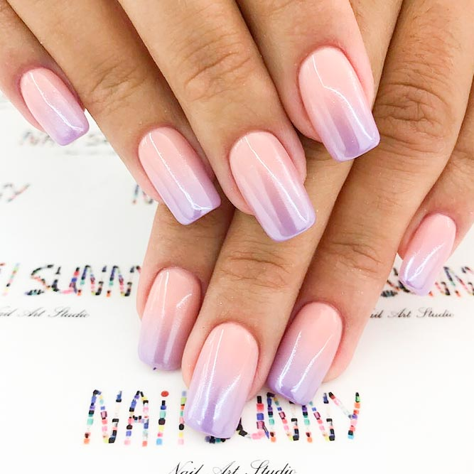 Pearl Ombre Nails Will Make You Look Chic picture 3