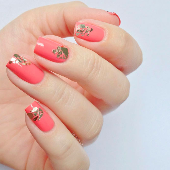 Design Nails with a Broken Glass Pattern picture 3