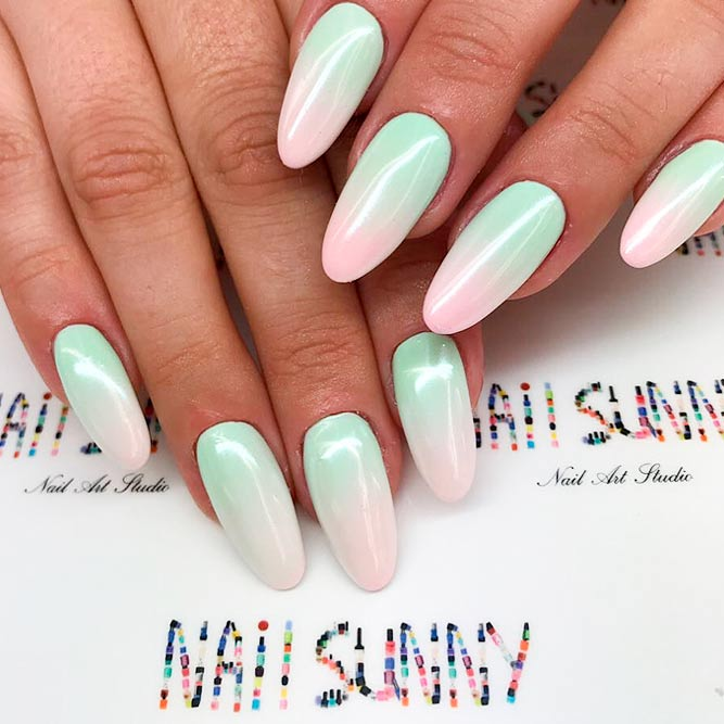 21 ways to design nails in a unique way naildesignsjournal pearl ombre nails will make you look chic picture 2 prinsesfo Gallery