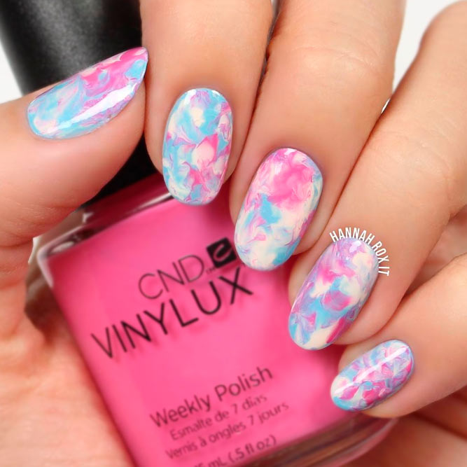 Abstract Color Mix for Your Graduation Nails picture 3