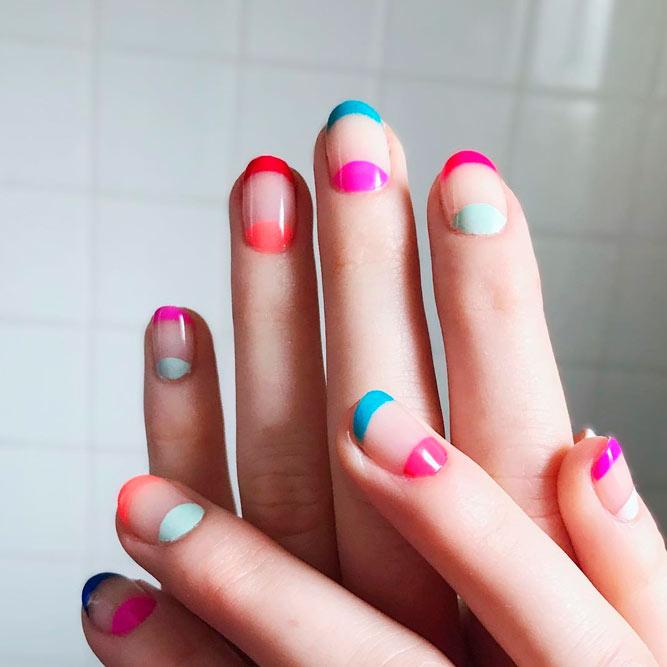24 Creative Negative Space Nails Designs | NailDesignsJournal.com