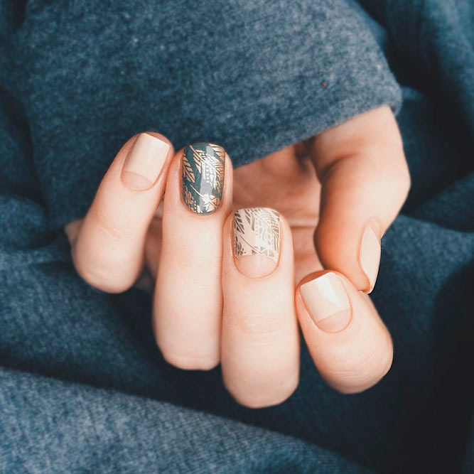 24 Creative Negative Space Nails Designs Naildesignsjournal
