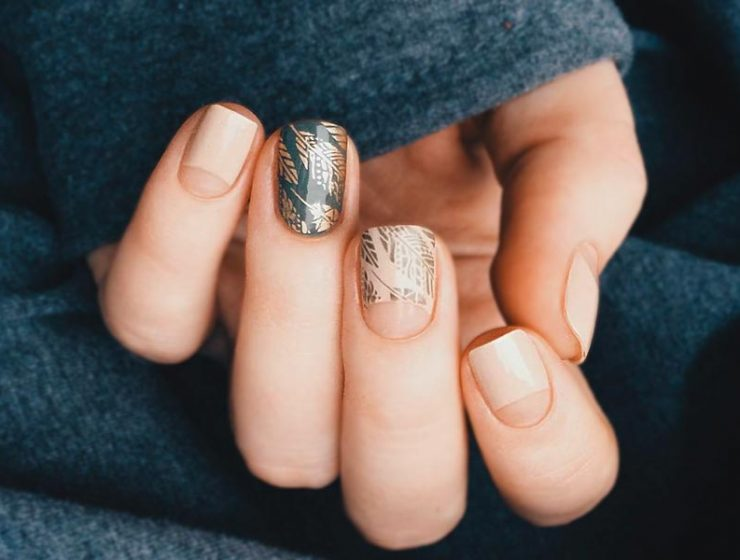 Negative Space Nails Designs Simple Perfection