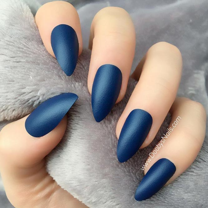 Matte Nails are a Trend of The Season picture 3