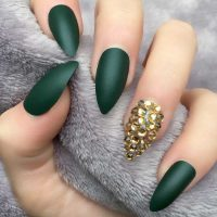 21 upgraded pointed nail designs  naildesignsjournal