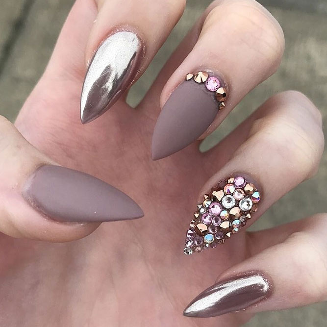 Stiletto nail design image collections nail art and nail design nail designs stiletto image collections nail art and nail design stiletto nail art ideas best nails prinsesfo Images