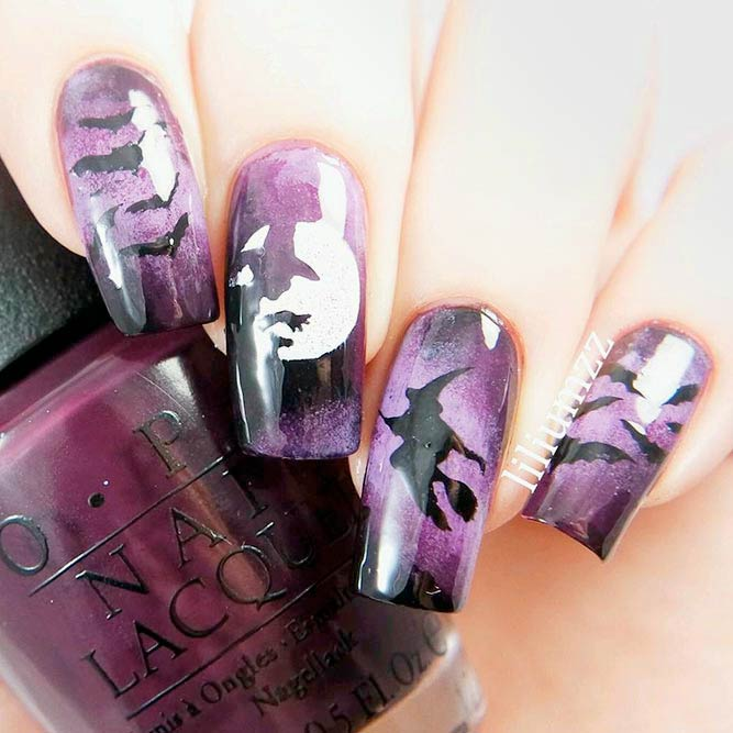 Scary Ideas for Your Halloween Mani picture 1