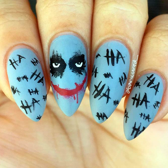 stylish and fun halloween nail designs picture 3