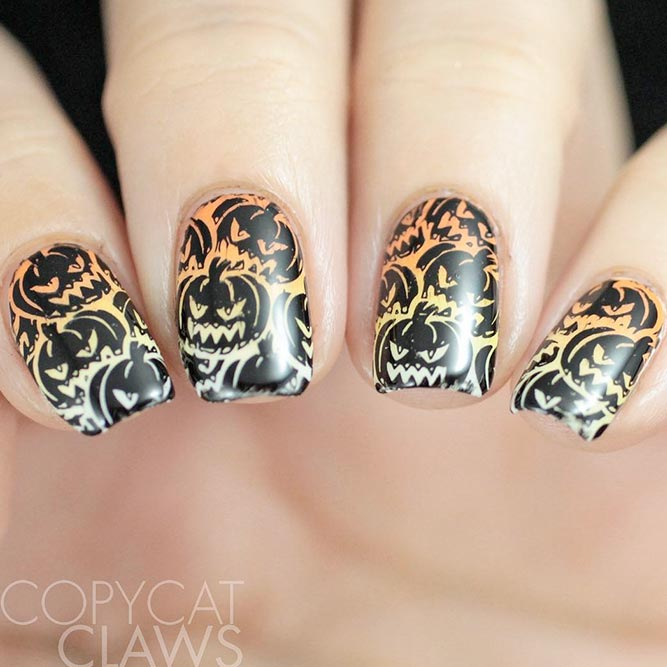 Cool Halloween Nail Designs picture 2